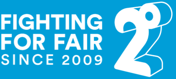 2degrees Fighting for Fair logo